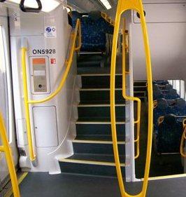 אספקת חלקים לייצור מדרגות לרכבות BOMBARDIER גרמניה